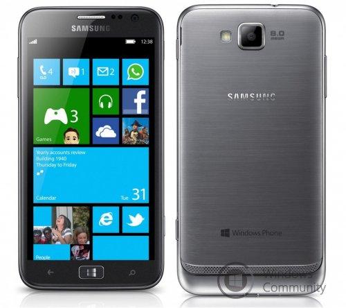 Samsung Ativ S начал получать обновление Windows Phone 8.1