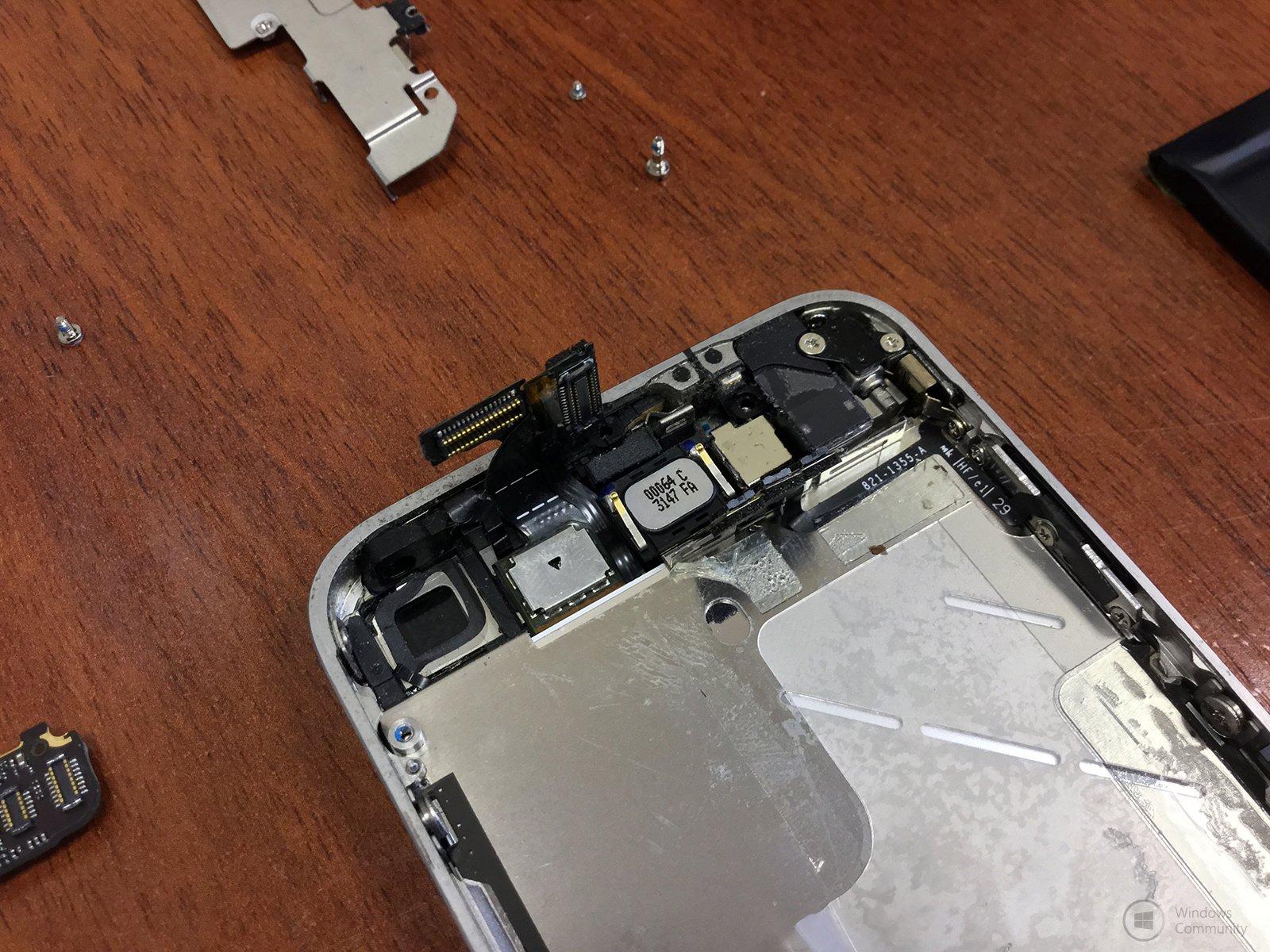Разобрать iphone 4s