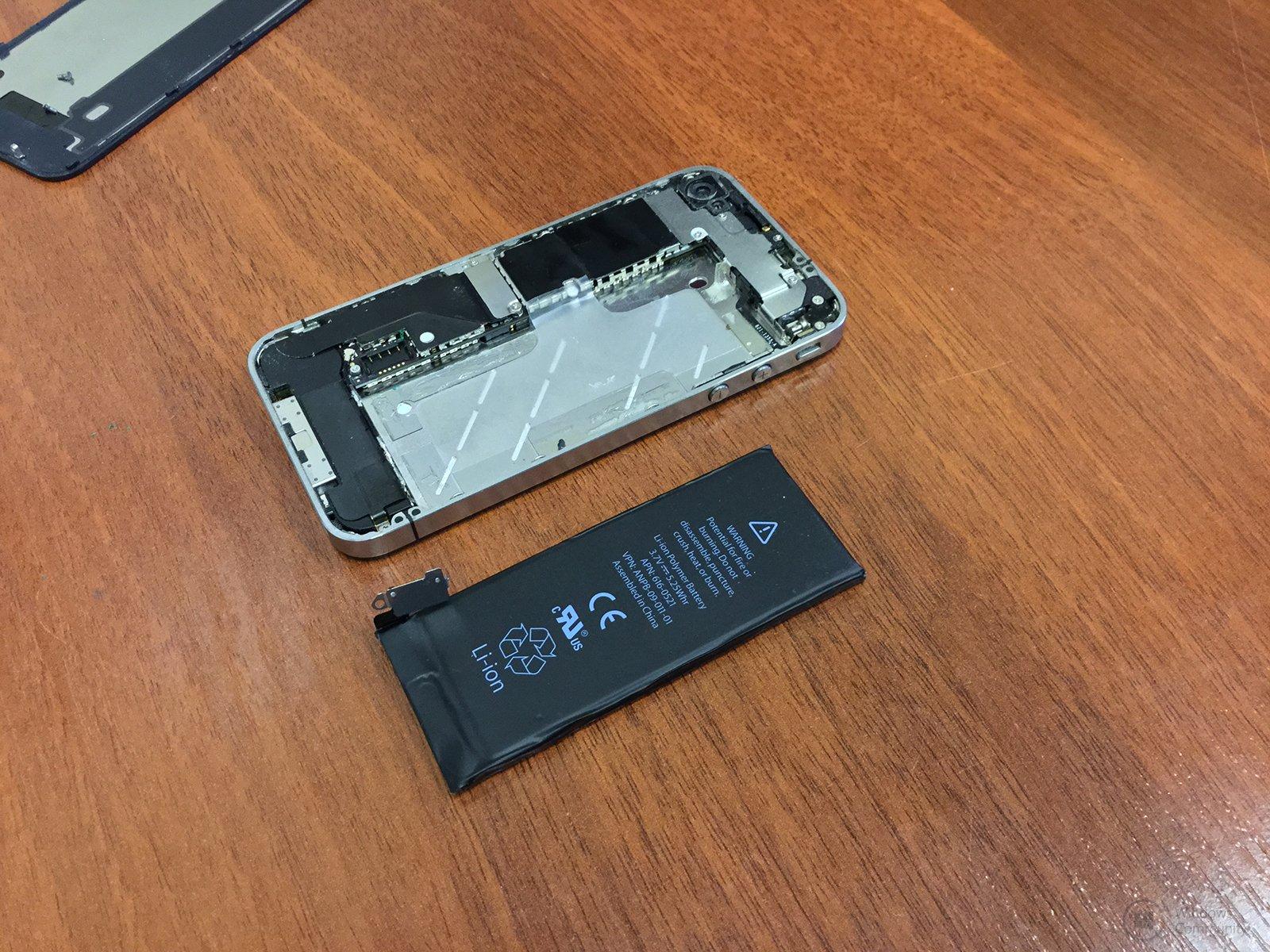 Сколько стоит оригинальная батарея для iphone 4s