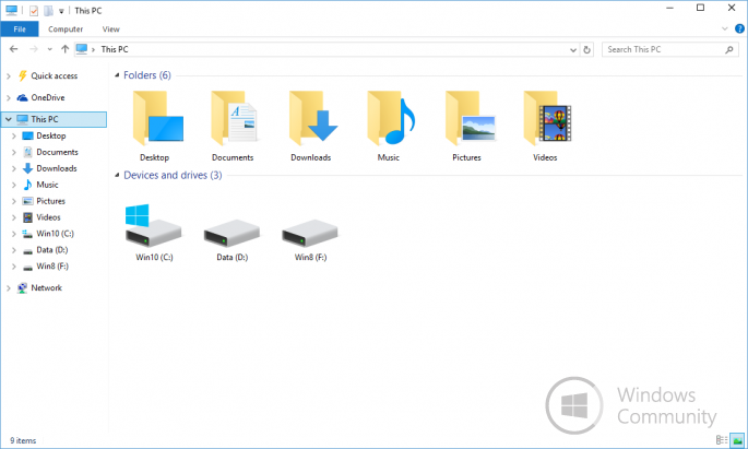 New Microsoft Icon Set for Windows 10 (330 icons, 10.0.10125)