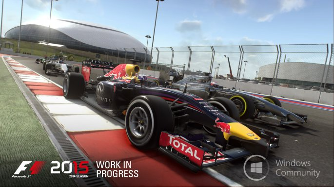Выход F1 2015 отложен на месяц