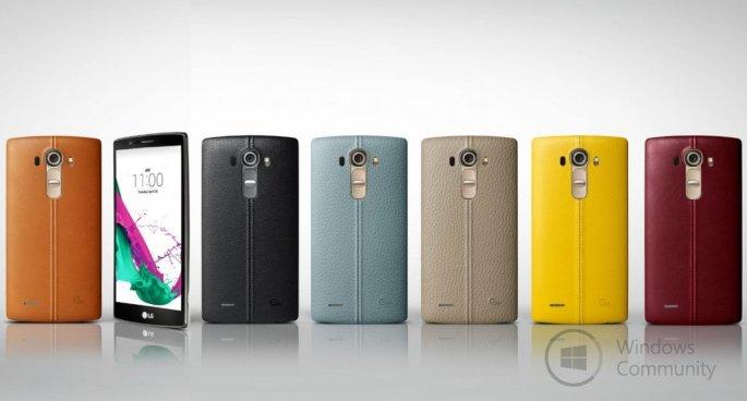 LG G4 официально представлен в России