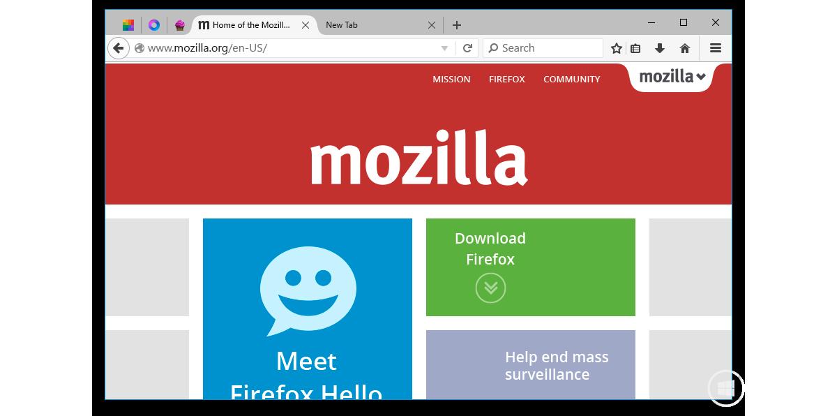 Mozilla Firefox for Windows 10: Первые наброски интерфейса