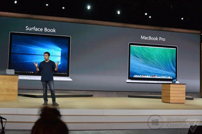 Microsoft анонсировала Surface Book