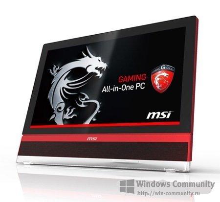 MSI Wind Top AG2712A — мощный игровой моноблок с 27-дюймовым сенсорным экраном